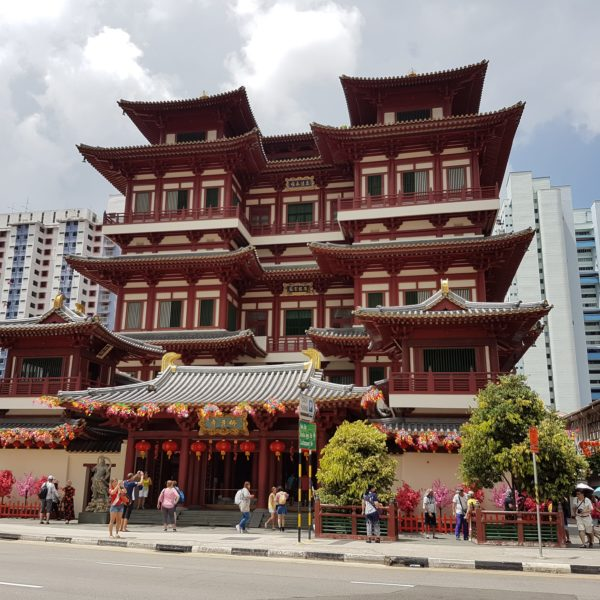 Buddha Tooth Relic Tempel in Chinatown