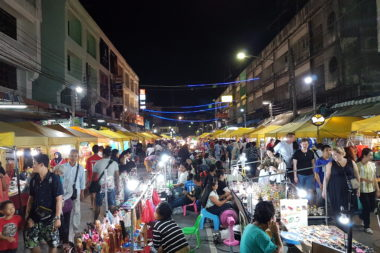 Weekend Market in Krabi Town